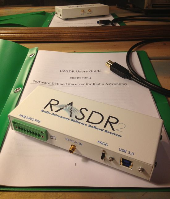 Radio Astronomy Software Defined Receiver, top